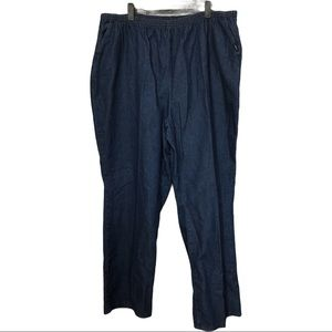 Chic Comfort Plus Pull On Jeans Pants